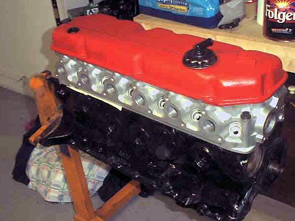 Prior To The Introduction Of The Aluminum Cylinder Head, Offered By Classic  Inlines, You Only Had A Few Other Options. With An Aussie Cast Iron 250 2V  ...