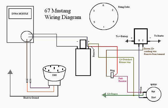 1967 mustang engine wiring diagram 1967 image classic inlines duraspark ii swap on 1967 mustang engine wiring diagram