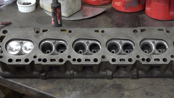 Head with new valves